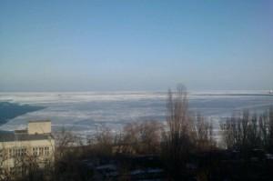 Фото.Черное море замерзло.