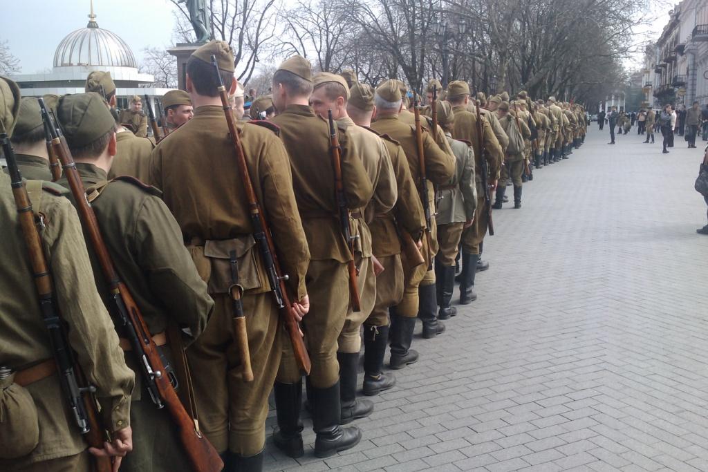 День освобождения Одессы фото