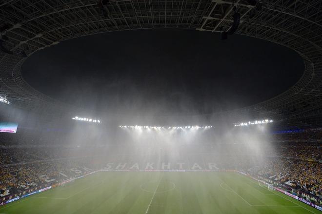 Ливень на Евро 2012