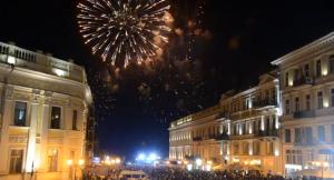 Салют в честь 219 годовщины Дня города Одессы (видео)