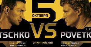 Бой Кличко-Поветкин