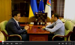 Саакашвили встреча с главой Одесской милиции.
