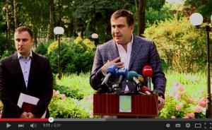 Обращение Михаила Саакашвили к одесситам!