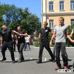 Тренировка новой одесской полиции