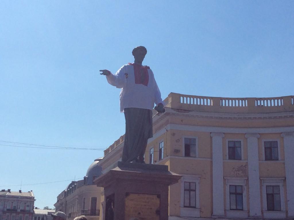 Дюк в Вышиванке, Одесса 2015