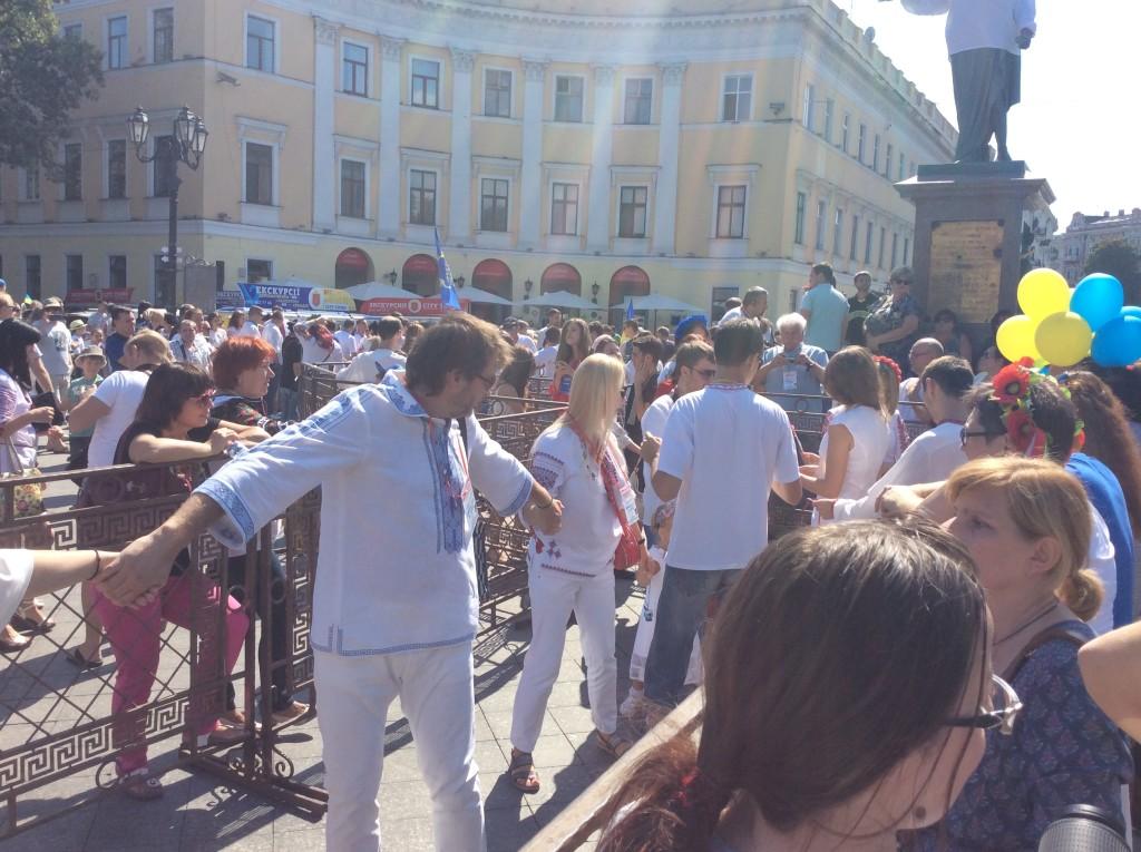 Вышиванковый фестиваль Одесса 2015