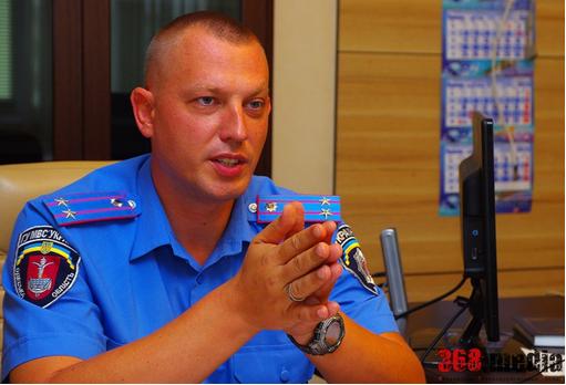 Начальник Одесского ГАИ