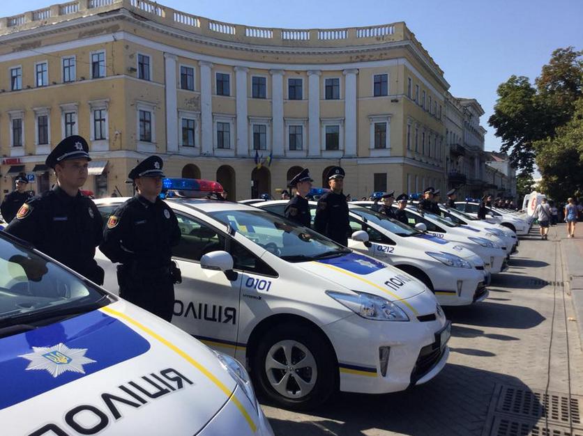 Новая полиция Одессы 1