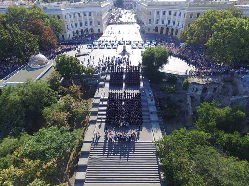Новая полиция Одессы