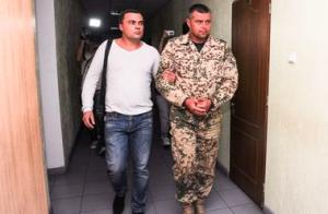 Задержание в Одессе военных